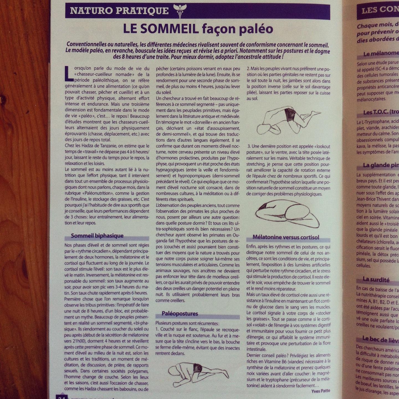 Double parution deux articles dans n o sant n 26 for Le divan 09 02 16