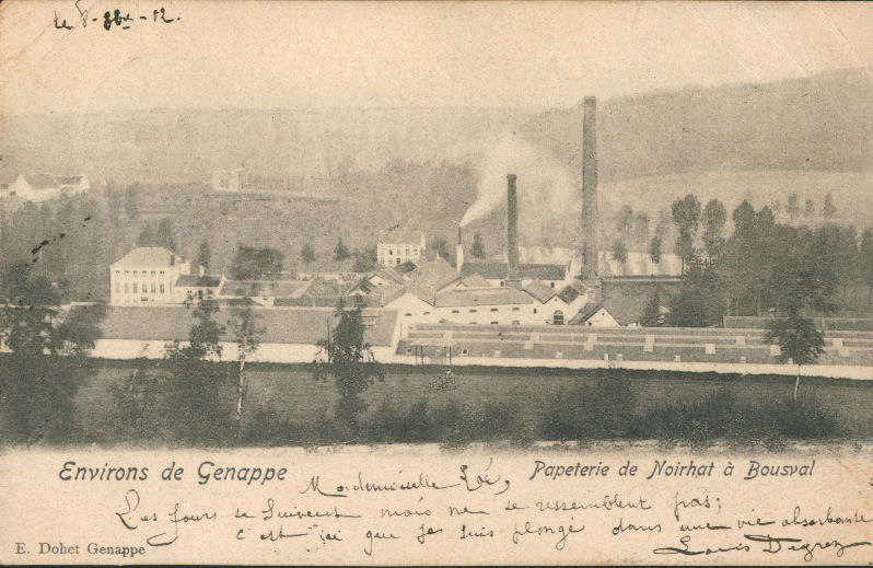 Papeterie 1902 Bousval